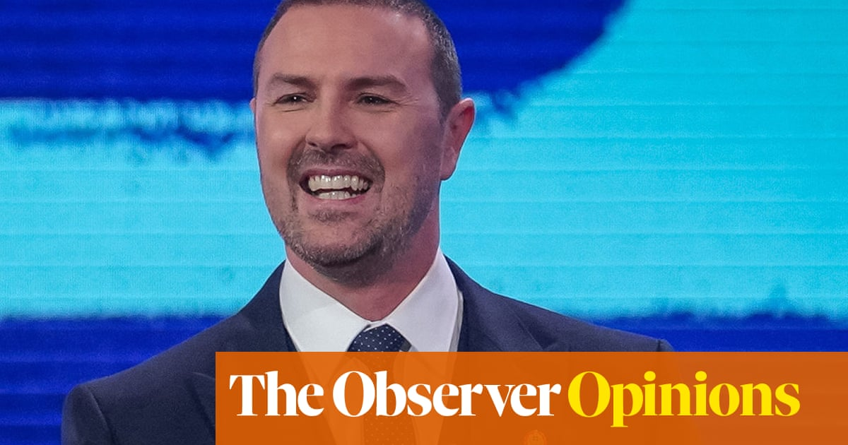 Paddy McGuinness: watching people telling lies is oddly irresistible