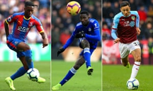 Crystal Palace's Aaron Wan-Bissaka, Leicester City's Wilfred Ndidi and Burnley's Dwight McNeil should have been on the PFA's shortlist for young player of the year.