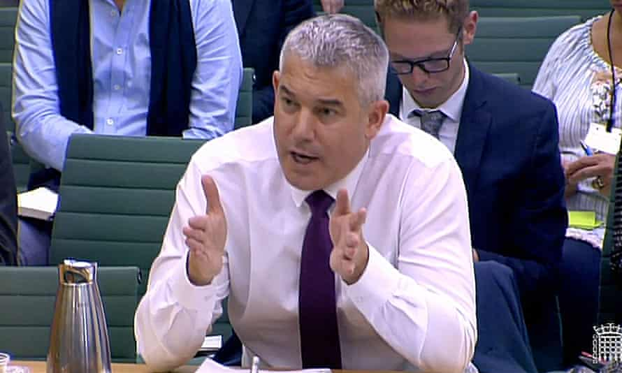 Stephen Barclay appears before a select committee