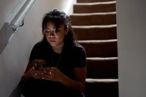 Emotion … Rita Bernard-Shaw plays Shiro's partner, Kiera.
