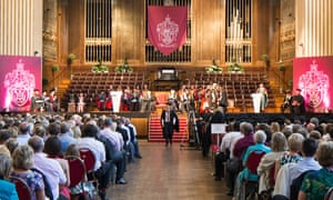 Swansea University graduation ceremony