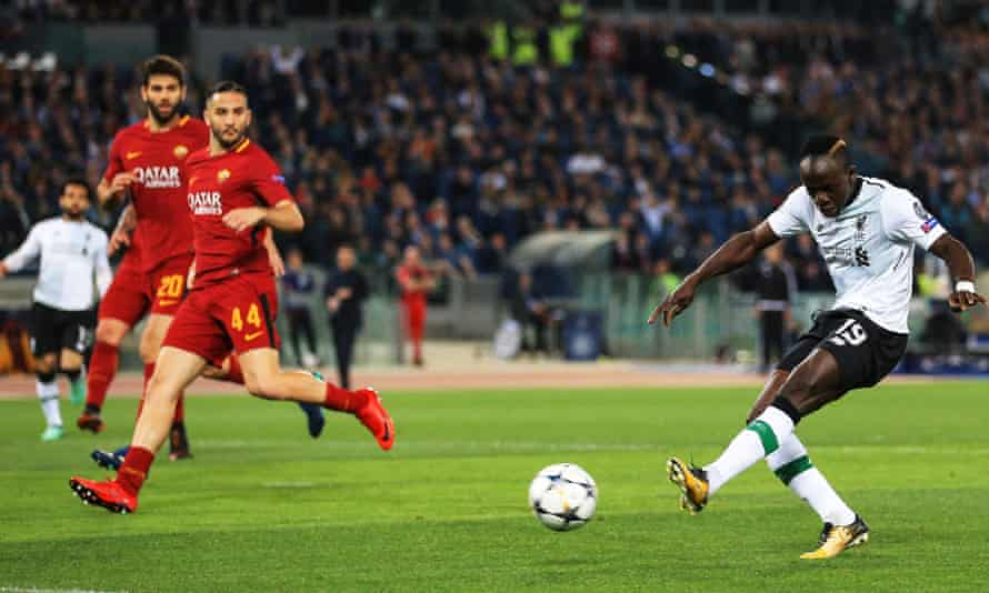 Sadio Mané opened the scoring in the second leg with a classic counter-attack goal.
