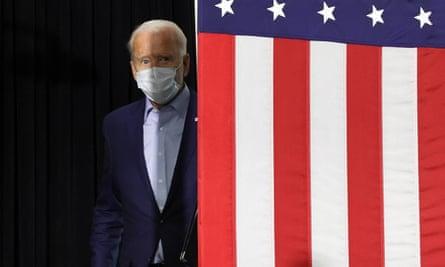 Joe Biden at a campaign event in Duluth, Minnesota