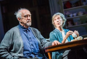 Jonathan Pryce and Eileen Atkins in The Height of the Storm by Florian Zeller.