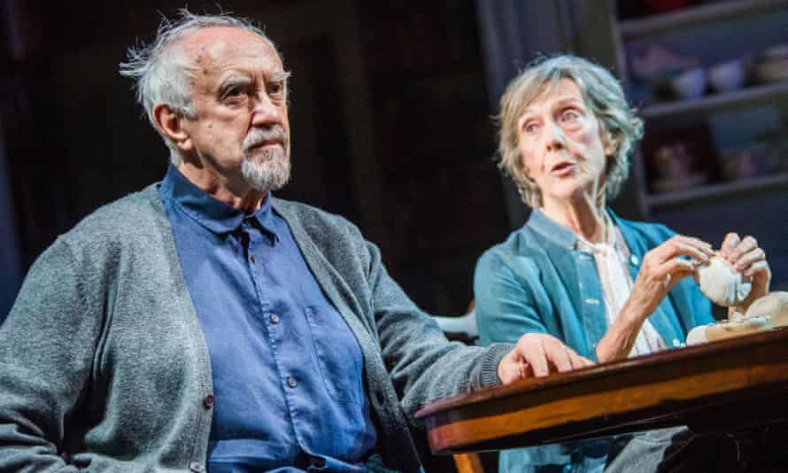 Pleasantly perplexing … The Height of the Storm, with Jonathan Pryce and Eileen Atkins at Wyndham's theatre, London, in 2018.
