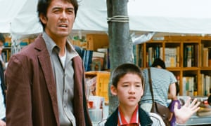Sad yearning … Hiroshi Abe and Taiyo Yoshizawa in After the Storm.