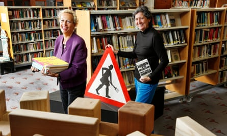 The power of heritage … Adele Patrick and Sue John at the Glasgow Women's Library