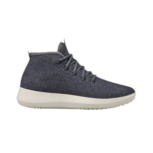 Sustainable grey wool mid tops, £130, allbirds.co.uk