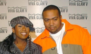 Missy Elliott and producer Timbaland in 2004.