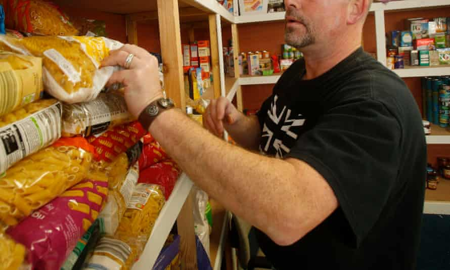 Food banks are 'mushrooming' across the UK.