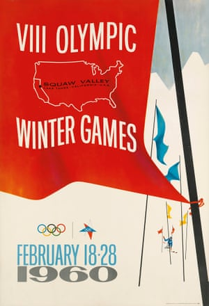 VIII Olympic Winter Games / Squaw Valley, 1960, by Jack Galliano