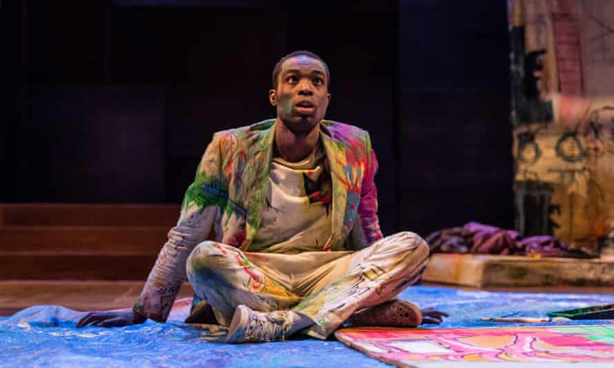 Essiedu in the RSC's production of Hamlet.