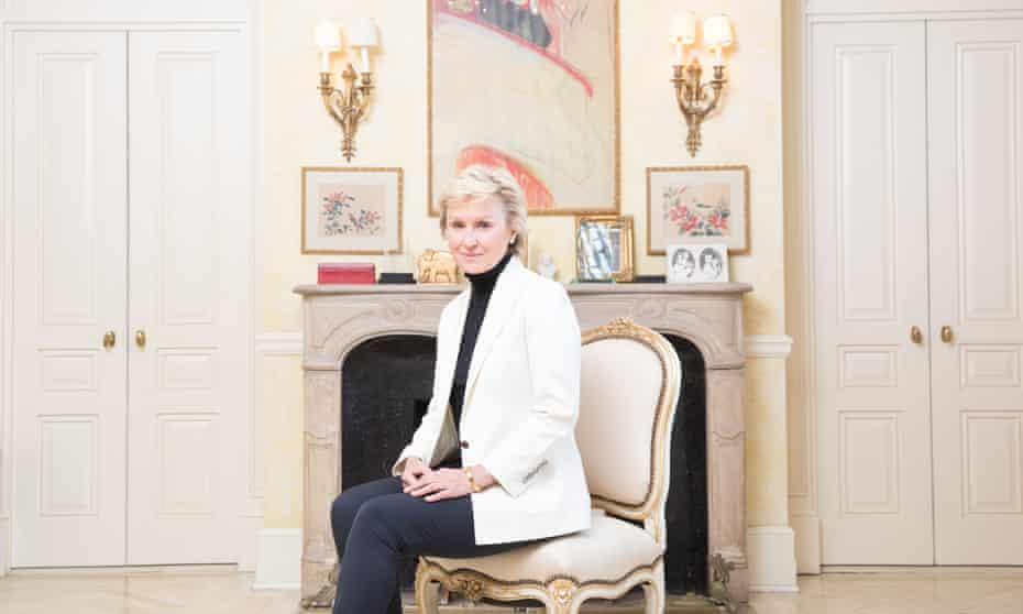 Tina Brown in New York: 'I felt that the British can be polite to your face and stab you when you turn around.'