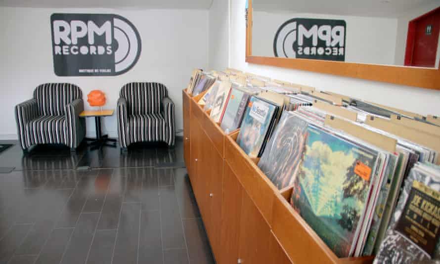 Vinyl shop and gig venue RPM Records