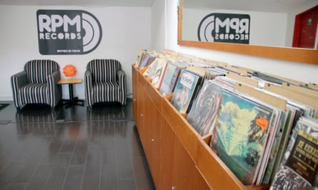 Vinyl shop and gig venue RPM Records