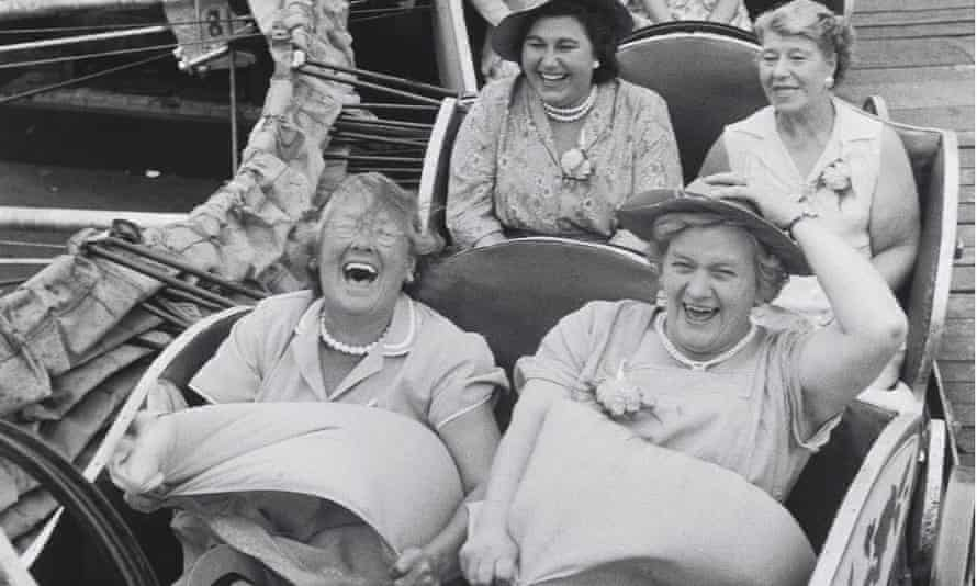A women's pub outing in the 1950s.