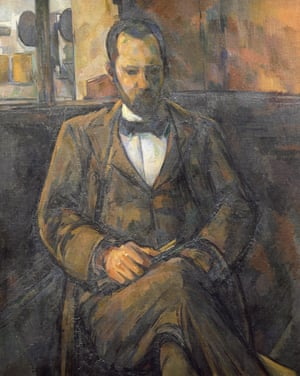Paul Cézanne's Portrait of Ambroise Vollard (1899).