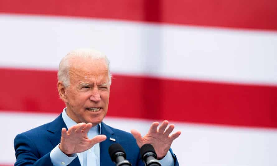 Biden said the reason Trump didn't act sooner was 'all about making sure that the stock market did not come down, and his rich friends didn't lose money.'