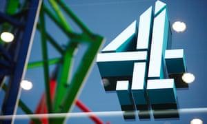 Channel 4 logo on London headquarters
