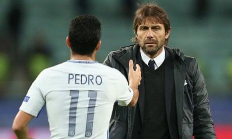 Antonio Conte uses overnight flight to fine-tune Chelsea's Anfield plan