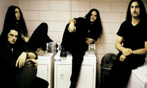 Type O Negative photographed in 1999.