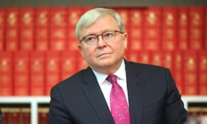 You Can T Have It Both Ways Rudd Says Morrison A Hypocrite Over Who Inspection Powers Australia News The Guardian