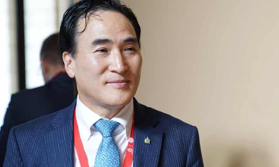New interpol chief Kim Jong-yang
