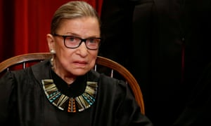 Supreme court spokeswoman Kathy Arberg said Ginsburg is 'doing well' and is already back at work, although working from home.
