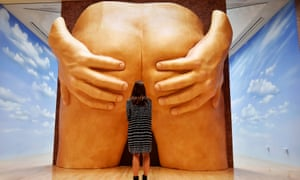 """Anthea Hamilton's Turner prize installation Project for a Door comes in the form of """"towering buttocks"""""""
