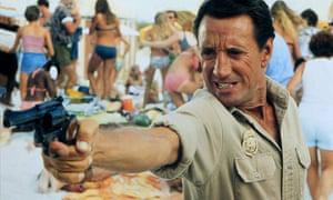 Roy Scheider in Spielberg's classic Jaws.