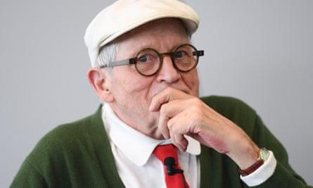 'John has a view of me no one else has' … David Hockney.