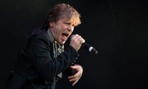 Bruce Dickinson, of Iron Maiden