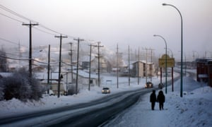 In Yellowknife, temperatures can drop to -40C.