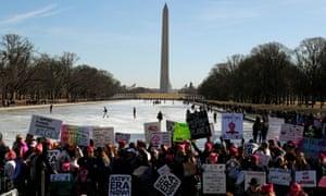 Crowds in Washington