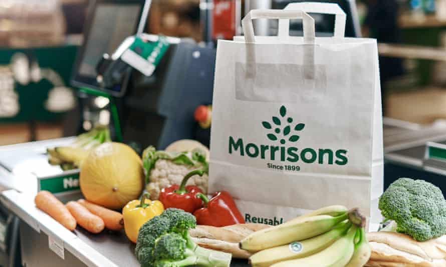 Morrisons new paper bag