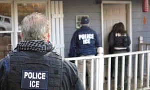 us ice agents immigration raid