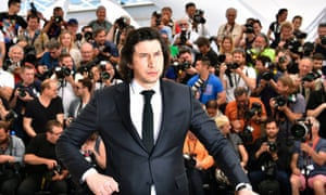 Adam Driver, who plays a bus-driving poet in Jim Jarmusch's Paterson.