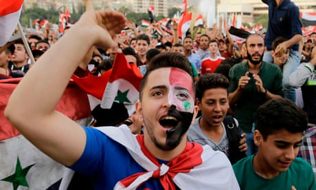 Crushed but for 120 minutes united: qualifier lets Syrians forget war