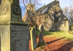 Memorial in Allendale churchyard