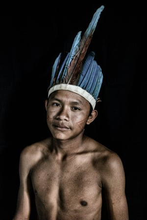 Caio Oliveira, 14 years old, from the Macuxi tribe in Uiramutã