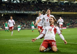 Denmark are unbeaten in 15 matches and Christian Eriksen makes them tick.