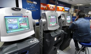 fixed-odds betting machines at a william hill branch