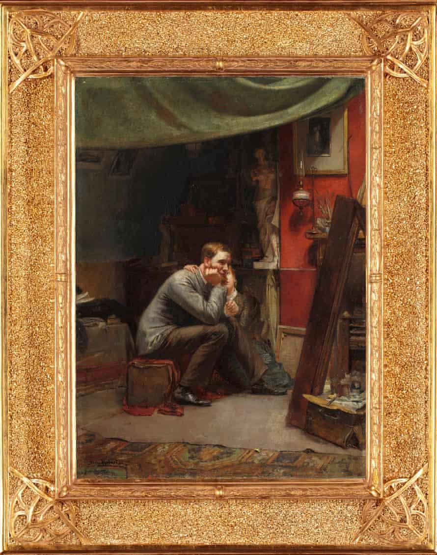 Tom Roberts' self-portrait Rejection