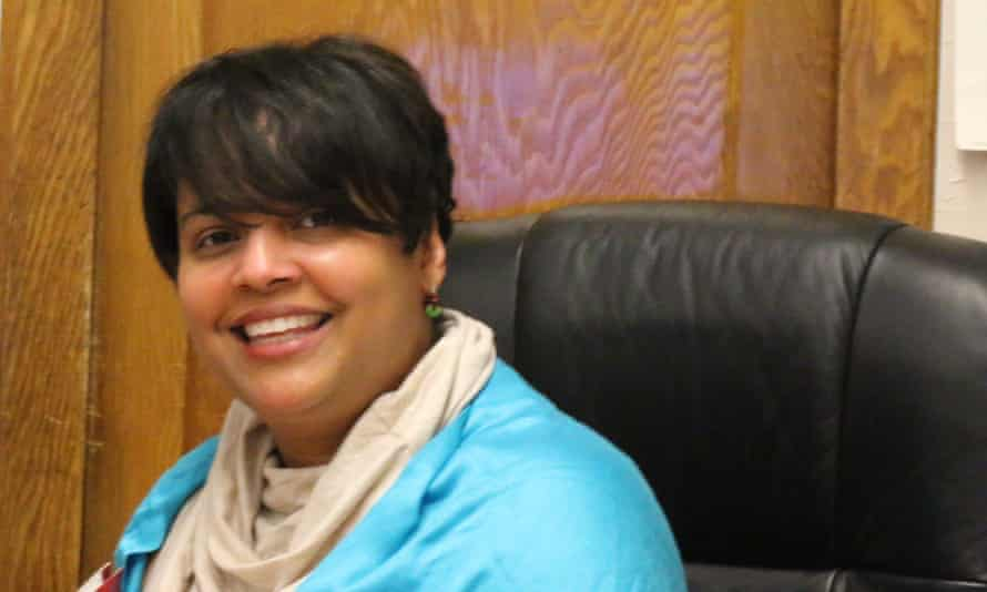 Luz Marquez-Benbow, a former adviser on the Violence Against Women Act