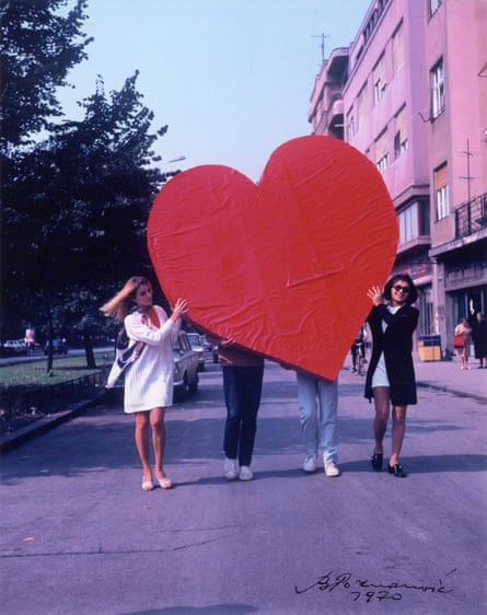 Bogdanka Poznanovic, Action Heart,1970.