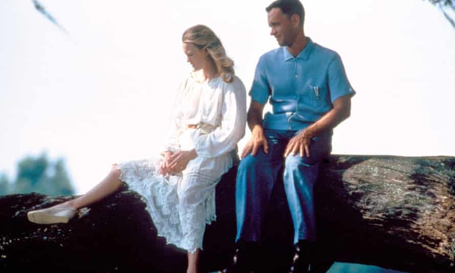 characters Jenny Curran & Forrest Gump in the film adaptation