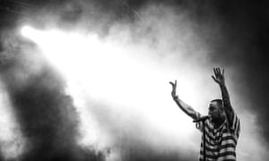 Mac Miller performing at Camp Flog Gnaw Carnival, Los Angeles, in 2017.