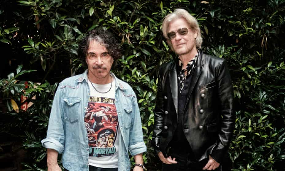 Daryl Hall (right) and John Oates in 2019