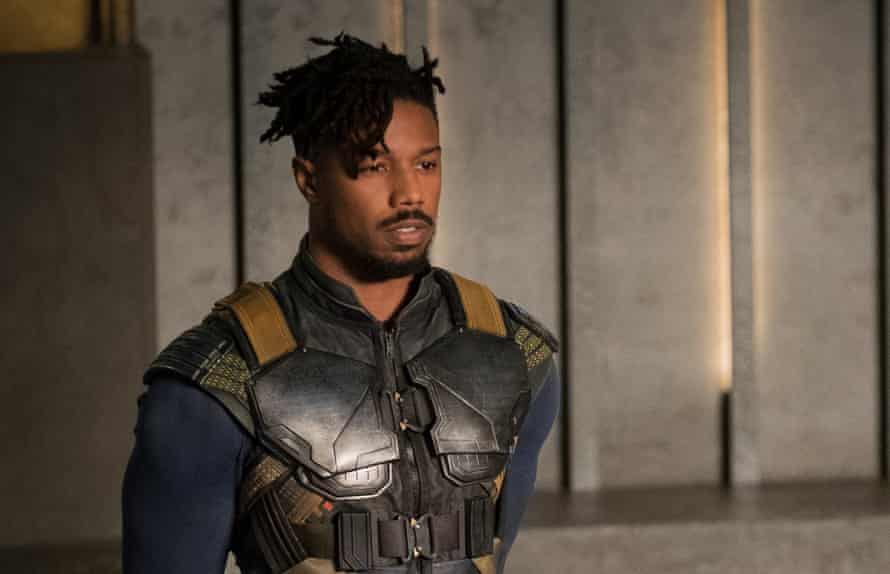 Michael B Jordan in Black Panther. An Oscar contender?