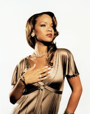Rihanna by Derrick Santini, 2004
